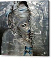 'silver Flight' Acrylic Print by Christian Chapman Art
