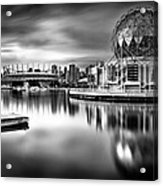 Silver-plated Vancouver Acrylic Print by Alexis Birkill