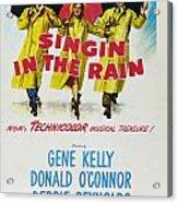 Singin In The Rain Acrylic Print by Georgia Fowler
