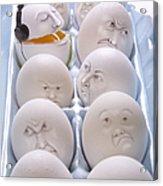 Singing Egg Acrylic Print by Diane Diederich