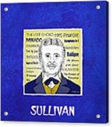 Sir Arthur Sullivan Acrylic Print by Paul Helm