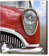 Sitting Pretty - Buick Acrylic Print by Mike McGlothlen