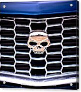Skull Grill Acrylic Print by Phil 'motography' Clark