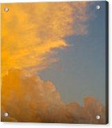 Sky Fire 002 Acrylic Print by Tony Grider