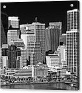 Skyline San Francisco Acrylic Print by Ralf Kaiser