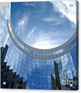 Skyscraper Acrylic Print by Michal Bednarek