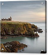 Slains Castle Sunrise Acrylic Print by Dave Bowman