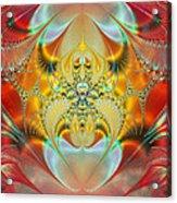 Sleeping Genie Acrylic Print by Ian Mitchell