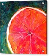 Slice Of Texas Acrylic Print by Debi Starr