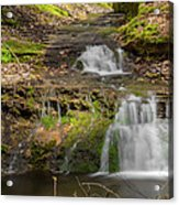 Small Falls At Parfrey's Glen Acrylic Print by Jonah  Anderson
