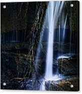 Small Waterfall Acrylic Print by Tom Mc Nemar