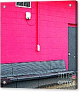 Smokin' Out The Back Door Acrylic Print by MJ Olsen