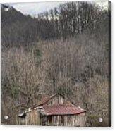Smoky Mountain Barn 1 Acrylic Print by Douglas Barnett