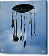 Smoky Mountain Windchime Acrylic Print by Christi Kraft