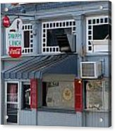 Snappy Lunch Mt. Airy Nc Acrylic Print by Bob Pardue