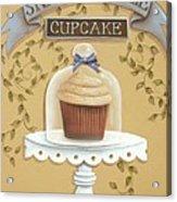 Snickerdoodle Cupcake Acrylic Print by Catherine Holman