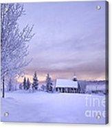 Snow Day Acrylic Print by Kristal Kraft