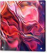 Soft Streamlines Acrylic Print by Terril Heilman