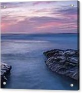 Soft Waters Acrylic Print by Peter Tellone