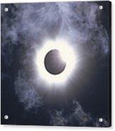 Solar Eclipse August 11 1999 Acrylic Print by Konrad Wothe