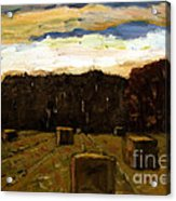 Sold Row By Row Acrylic Print by Charlie Spear