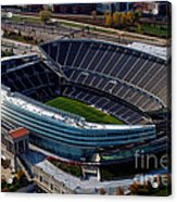 Soldier Field Chicago Sports 06 Acrylic Print by Thomas Woolworth