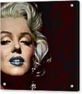 Some Like It Hot Acrylic Print by Marie  Gale