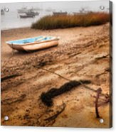 Someday My Ship Will Come In Acrylic Print by Bill Wakeley