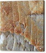 Sourdough Crust Acrylic Print by Mary Deal