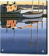 South Harbour Reflections Acrylic Print by Gary Giacomelli
