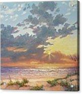 South Padre Island Splendor Acrylic Print by Carol Reynolds