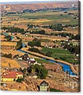Southslope Emmett Valley Acrylic Print by Robert Bales