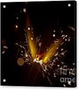Sparkler Macro Acrylic Print by SteveHPhotos