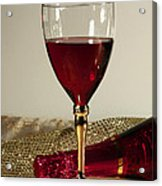Sparkling Wine For One Acrylic Print by Inspired Nature Photography Fine Art Photography
