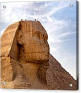 Sphinx Egypt Acrylic Print by Jane Rix