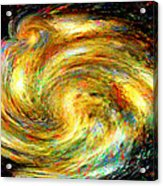 Spirit-fire Of Creation Bang Redemption Acrylic Print by Rebecca Phillips