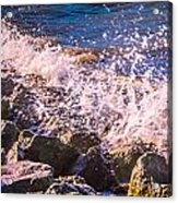 Splashes Acrylic Print by Dawn OConnor