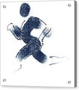 Sport A 1 Acrylic Print by Theo Danella