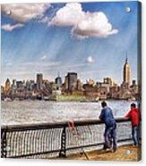 Sport - Fishing Acrylic Print by Mike Savad