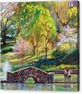 Spring Morning Acrylic Print by Bonnie Mason