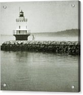 Spring Point Ledge Light Acrylic Print by Joan Carroll