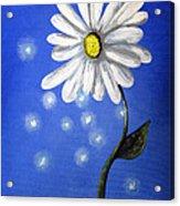 Springtime Fairies By Shawna Erback Acrylic Print by Shawna Erback