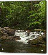 Springtime Rapids Acrylic Print by Andrew Soundarajan