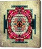 Sri Yantra  Acrylic Print by Filippo B