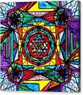 Sri Yantra Acrylic Print by Teal Eye  Print Store