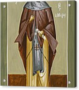St Anthony Acrylic Print by Julia Bridget Hayes