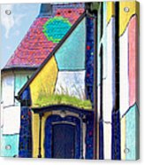 St Barbara Church - Baernbach Austria Acrylic Print by Christine Till