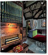 St Digains Church Acrylic Print by Adrian Evans