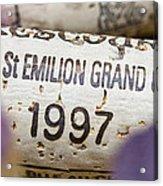 St Emilion Grand Cru Acrylic Print by Frank Tschakert