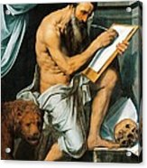 St. Jerome Acrylic Print by Willem Key